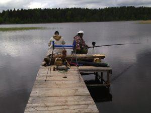 на берегу озера селигер недорого